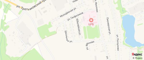 Улица Шестакова на карте Змеиногорска с номерами домов