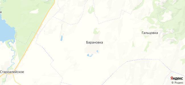 Барановка на карте