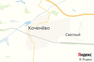 Карта пгт Коченево Новосибирская область