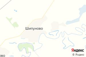 Карта с. Шипуново Алтайский край