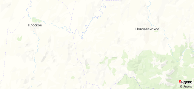 Боровлянка на карте