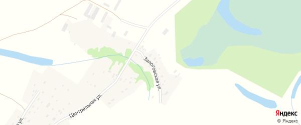 Залоговская улица на карте поселка Барчихи Алтайского края с номерами домов