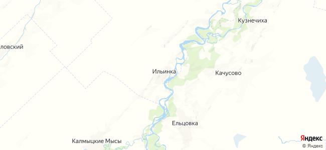 Ильинка на карте