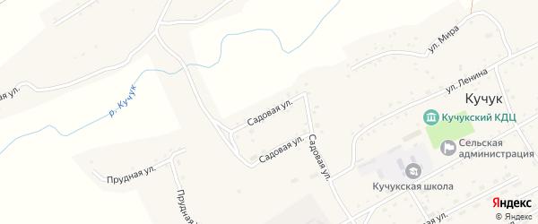 Садовая улица на карте села Кучука с номерами домов