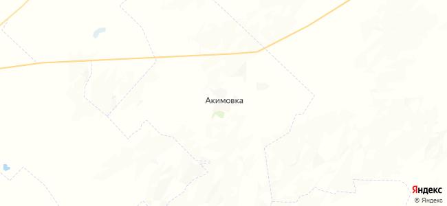Акимовка на карте