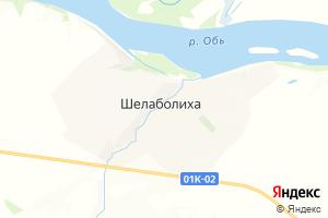 Карта с. Шелаболиха Алтайский край