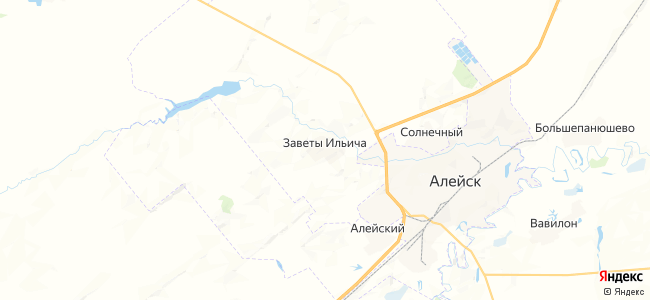 Заветы Ильича на карте