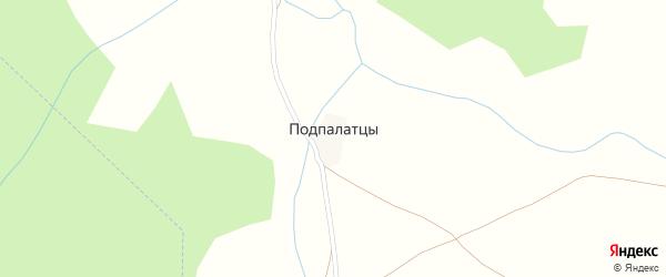 Речная улица на карте поселка Подпалатцы с номерами домов
