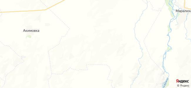Семеновка на карте