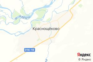Карта с. Краснощёково Алтайский край
