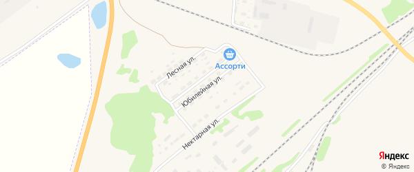 Юбилейная улица на карте Алейска с номерами домов
