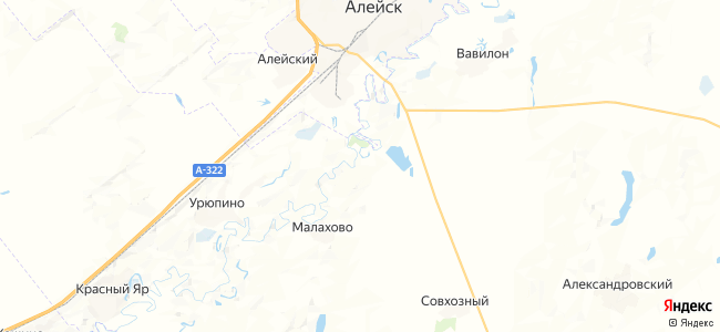 Зеленая Поляна на карте