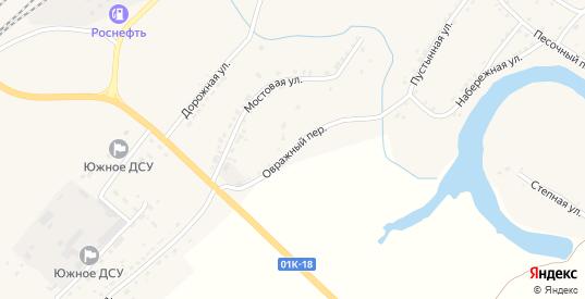 Овражный переулок в Алейске с номерами домов на карте. Спутник и схема онлайн