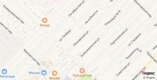 Пионерская улица в Алейске с номерами домов на карте. Спутник и схема онлайн