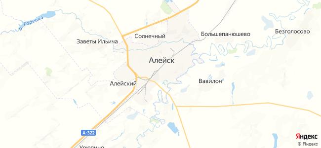 Алейск на карте