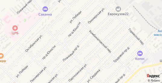 Плановый проезд в Алейске с номерами домов на карте. Спутник и схема онлайн