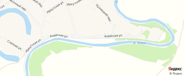 Алейская улица на карте Алейска с номерами домов