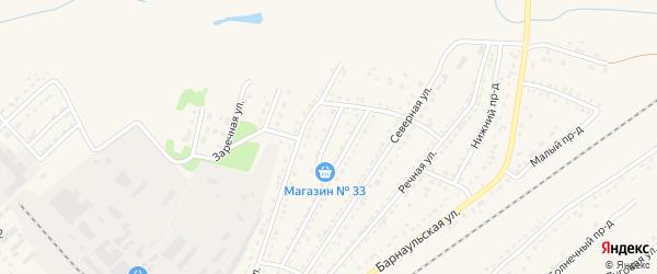 Фестивальный проезд на карте Алейска с номерами домов