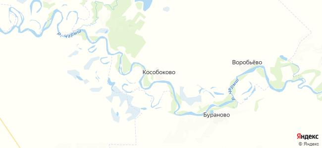 Кособоково на карте