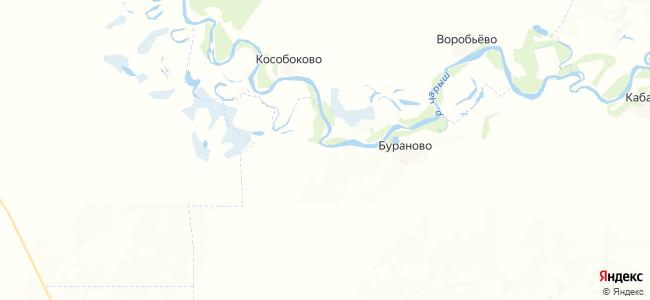 Усть-Ермилиха на карте