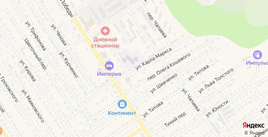 Улица К.Маркса в Колпашево с номерами домов на карте. Спутник и схема онлайн