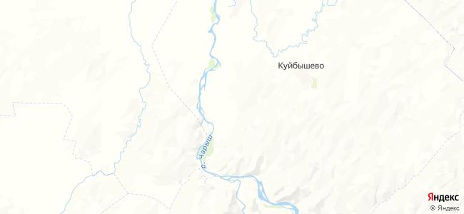 Аверенка на карте