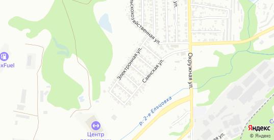 4-й Электронный переулок в Новосибирске с номерами домов на карте. Спутник и схема онлайн