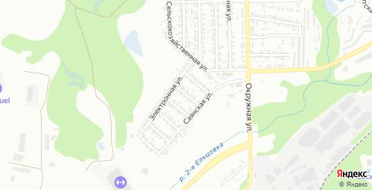 5-й Электронный переулок в Новосибирске с номерами домов на карте. Спутник и схема онлайн