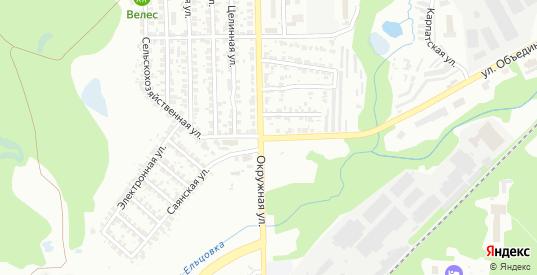 Рекордный переулок в Новосибирске с номерами домов на карте. Спутник и схема онлайн
