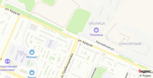 Улица Краузе в Новосибирске с номерами домов на карте. Спутник и схема онлайн