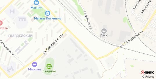 Улица Солидарности в Новосибирске с номерами домов на карте. Спутник и схема онлайн