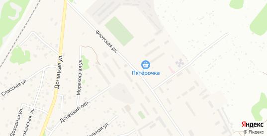 Флотская улица в Новосибирске с номерами домов на карте. Спутник и схема онлайн