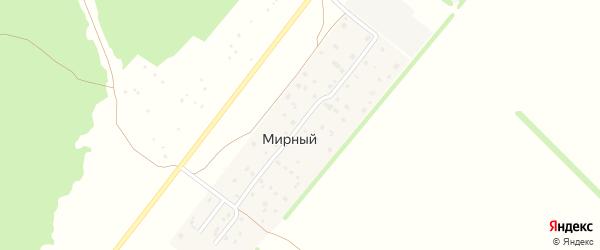 Центральная улица на карте села Павловска с номерами домов
