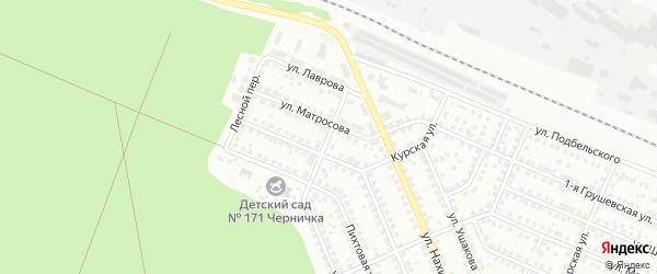 Улица Брюсова на карте Новосибирска с номерами домов