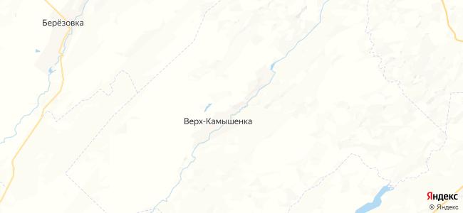 Верх-Камышенка на карте