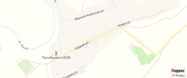 Новая улица на карте села Зимино с номерами домов