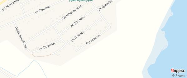 Луговая улица на карте Черемного села Алтайского края с номерами домов