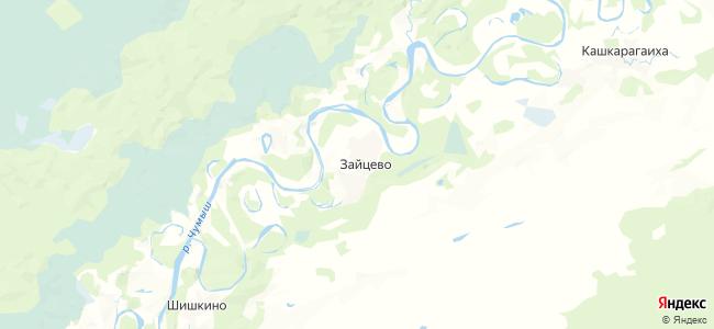 Зайцево на карте