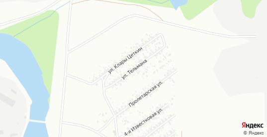Улица Тельмана в Искитиме с номерами домов на карте. Спутник и схема онлайн