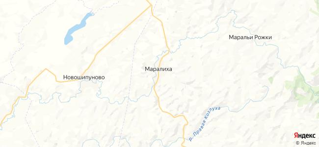 Маралиха на карте