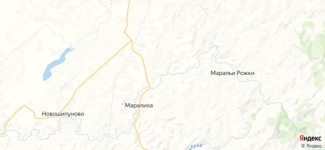 Красный Май на карте