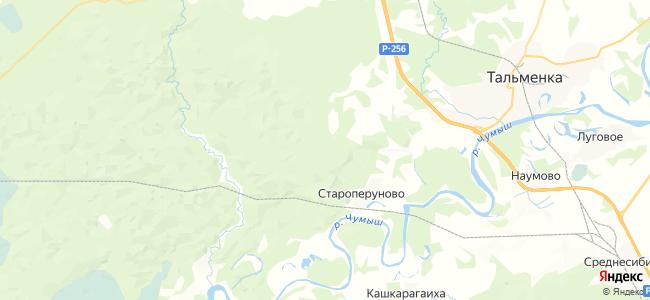 Воронежско-Молодежная на карте