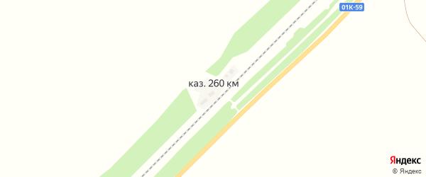 Железнодорожная улица на карте железнодорожной казармы 260 км с номерами домов