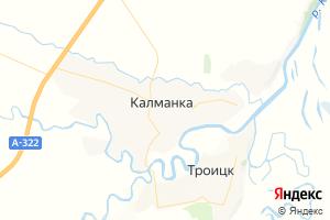 Карта с. Калманка Алтайский край