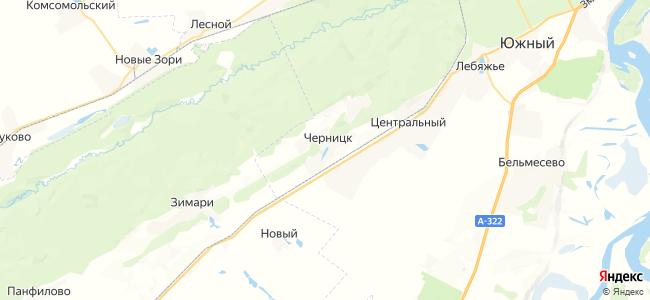 Черницк на карте