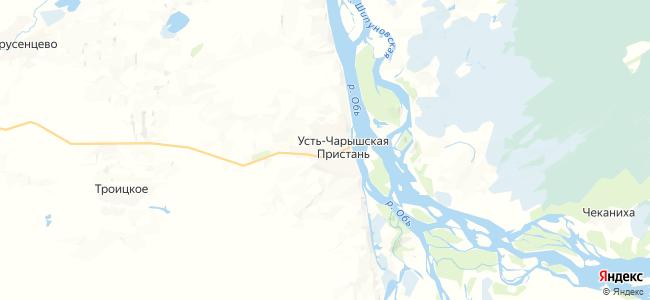 Усть-Чарышская Пристань на карте