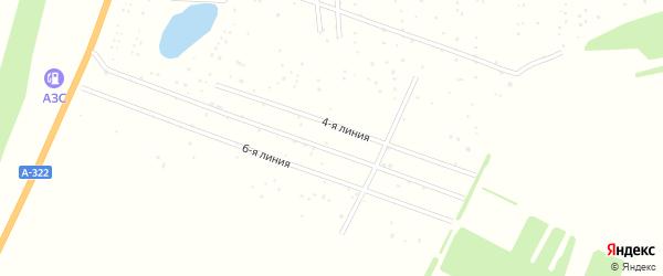5-я линия на карте территории сдт Степноя-2 с номерами домов