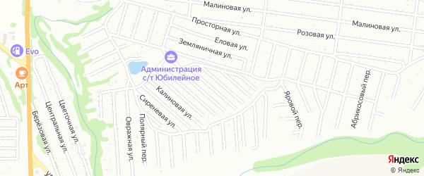 Виноградная улица на карте садового некоммерческого товарищества Алтая с номерами домов