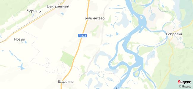 Конюхи на карте