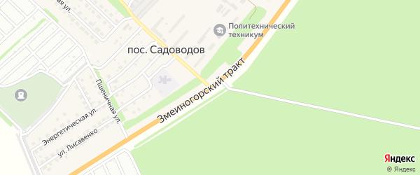 Змеиногорский тракт на карте Барнаула с номерами домов